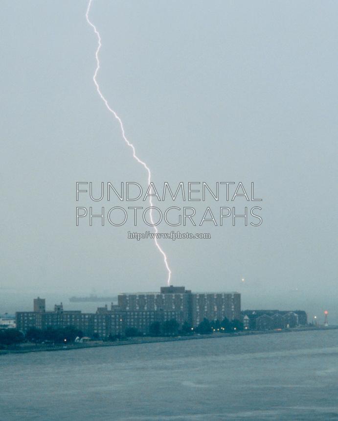 LIGHTNING STRIKE<br /> Governor's Island, NY