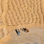 Bulk Materials Terminal; Jaxport Florida; front-end loader dumptruck; sand; helicopter; aerial