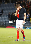 Gary Caldwell in tears at the end