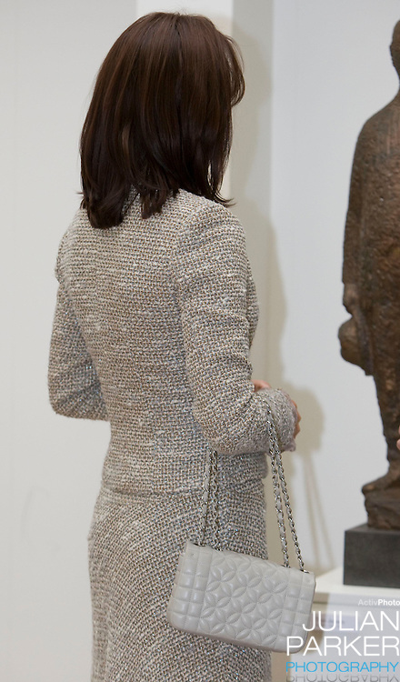 Crown Prince Frederick and Crown Princess Mary of Denmark begin a four day official visit to Iceland, visit the Sigurjon Olafsson Museum of Art, in  Reykjavik, accompanied  by The President of Iceland, Olafur Ragnar Grimsson, and his wife Dorrit Moussaieff
