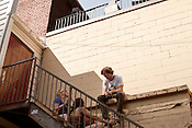 September 7, 2012. Raleigh, North Carolina..Churchkey Records Day Party at Slim's..Hopscotch 2012, Day Two.