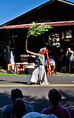 Akiko's Bed and Breakfast Mochi Pounding New Year's Event 2012 featuring Hui Okinawa Kobudo Taiko and Shizuno Nasu performing the Okinawan Dragon Dance, Big Island.