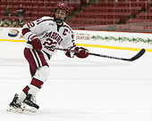 Devin Tringale (Harvard - 22) - The Harvard University Crimson defeated the US National Team Development Program's Under-18 team 5-2 on Saturday, October 8, 2016, at the Bright-Landry Hockey Center in Boston, Massachusetts.
