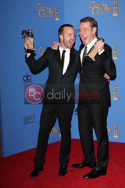 Bryan Cranston. Aaron Paul<br />