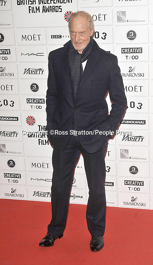 London - The Moet British Independent Film Awards held at Old Billingsgate, London - December 4th 2011..Photo by Ross Stratton.