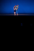 "Rita Donahue and Noah Vinson of Mark Morris Dance Group perform ""Rock of Ages"" Friday, July 27th 2012 at DPAC in Durham."