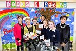 Author Roisin Meaney, Presented prizes to Students of Presentation Secondary School Tralee, as part of Love Literature week on Tuesday. Pictured Award winners Aoife Hickey, Emma Baftyary, Kerry Oba, Kate O'Donoghue, missing Emma Hayes with Teachers Joanna O'Flynn and Norma Foley