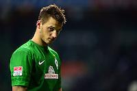 FUSSBALL   1. BUNDESLIGA   SAISON 2012/2013    24. SPIELTAG SV Werder Bremen - FC Augsburg                           02.03.2013 Marko Arnautovic (SV Werder Bremen) ist enttaeuscht