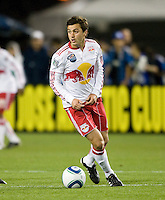 Sinisa Ubiparipovic of Red Bulls in action during the game against the Red Bulls at Buck Shaw Stadium in Santa Clara, California.  San Jose Earthquakes defeated New York Red Bulls, 4-0.