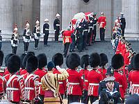 Margaret Tatcher funeral - London
