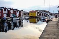 "Sweden. Smögen, one of the liveliest ""summer towns"" of the Swedish West Coast."