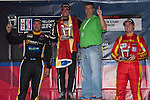 Round 12 Gold Class Podium: Angel Andres Benitez, David Calvert-Jones, Henrique Cisneros
