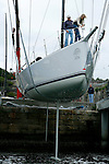 The 63 feet Loki at Woolwich Dock, Sydney..McConaghy Boats in Mona Vale, Australia built the new Reichel-Pugh 63 Loki For Stephen Ainsworth.