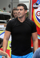 NEW YORK, NY-August 11: Gio Benitez at Good Morning America go for GMA Games Gold in New York. NY August 11, 2016. Credit:RW/MediaPunch