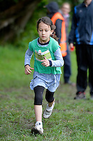 Action from the Athletics Wellington - Kids Cross Country at Mt Victoria, Wellington, New Zealand on Sunday 14 September 2014.<br /> Photo by Masanori Udagawa.<br /> www.photowellington.photoshelter.com