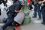 OPD beatdown of an unarmed protestor objecting to police brutality-beatdown of unarmed Black youth