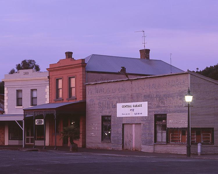 Garage on Fraser Street<br /> Clunes
