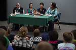 The Students for Law, Justice & Culture recently coordinated a panel discussion on the recent events in Ferguson Missouri. The panel included Dr. Vincent Jungkunz (Political Science), Dr. Debra Thompson (Political Science), Dr. Patricia Gunn (African American Studies), and Dr. Kelly Faust (Sociology-Criminology).