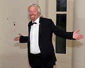 Sir Richard Branson arrives for the Official Dinner in honor of Prime Minister David Cameron of Great Britain and his wife, Samantha, at the White House in Washington, D.C. on Tuesday, March 14, 2012..Credit: Ron Sachs / CNP.(RESTRICTION: NO New York or New Jersey Newspapers or newspapers within a 75 mile radius of New York City)
