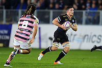 Francois Louw of Bath Rugby in possession. European Rugby Challenge Cup match, between Bath Rugby and Cardiff Blues on December 15, 2016 at the Recreation Ground in Bath, England. Photo by: Patrick Khachfe / Onside Images