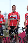 Adam Hansen (AUS) Lotto-Soudal at the Team Presentation in Alghero, Sardinia for the 100th edition of the Giro d'Italia 2017, Sardinia, Italy. 4th May 2017.<br /> Picture: Eoin Clarke | Cyclefile<br /> <br /> <br /> All photos usage must carry mandatory copyright credit (&copy; Cyclefile | Eoin Clarke)