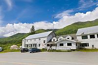 The Mother Lode Lodge, Hatcher Pass, Alaska.