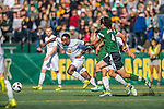 24 September 2016: University of Vermont Catamount Midfielder Mikel Kabala, a Sophomore from Kinshasha, DR of Congo, in action against the Dartmouth College Big Green at Virtue Field in Burlington, Vermont. The teams played to an overtime 1-1 tie in front of an Alumni Weekend crowd of 1,710 fans. Mandatory Credit: Ed Wolfstein Photo *** RAW (NEF) Image File Available ***