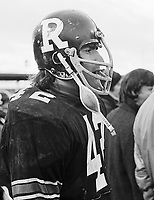 Bob McKeown Ottawa Rough Riders 1972. Copyright photograph Scott Grant