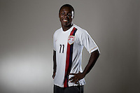 Freddy Adu. U20 men's national team portrait photoshoot before the start of the FIFA U-20 World Cup in Canada. June 22, 2007.