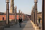 Piedra Bridge over River Ebro; Zaragoza - Saragossa; Aragon; Spain