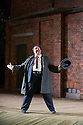 London, UK. 13.06.2014. Regent's Park Open Air Theatre presents HOBSON'S CHOICE, by Harold Brighouse. Directed by Nadia Fall. Picture shows:  Mark Benton (Henry Hobson). © Jane Hobson.