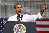United States President Barack Obama speaks on Energy and Gas prices at Prince George's Community College in Largo, MD, March 15, 2012..Credit: Martin Simon / Pool via CNP
