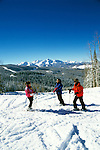 Colorado: Skiing at Telluride, model released. Photo: cotell102  .Photo copyright: Lee Foster, (510) 549-2202, lee@fostertravel.com, www.fostertravel.com