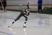 SCHAATSEN: CALGARY: Olympic Oval, 09-11-2013, Essent ISU World Cup, 500m, Paola Simionato (ITA), ©foto Martin de Jong