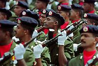 Military parade in Colombo, Sri Lanka
