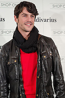 "Alejo sauras at Stradivarius store for the collection ""Fiesta'12 party  in Madrid"