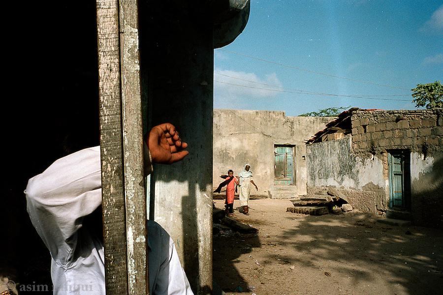 Street scene in Bet Dwarka, Gujarat