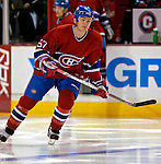 3 February 2007: Montreal Canadiens left wing forward Garth Murray (57) warms up prior to facing the New York Islanders at the Bell Centre in Montreal, Canada. The Islanders defeated the Canadiens 4-2.Mandatory Photo Credit: Ed Wolfstein Photo *** Editorial Sales through Icon Sports Media *** www.iconsportsmedia.com