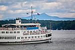 MS Mount Washington at Weirs Beach, Laconia, Lakes Region, NH, USA