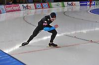 SCHAATSEN: BERLIJN: Sportforum, 08-12-2013, Essent ISU World Cup, 500m Men Division B, Joey Mantia (USA), ©foto Martin de Jong