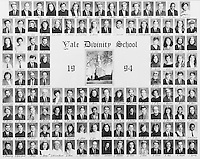 1994 Yale Divinity School Senior Portrait Class Group Photograph
