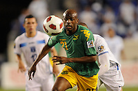 Luton Shelton (21) of Jamaica. Jamaica defeated Honduras 1-0 during a CONCACAF Gold Cup group stage match at Red Bull Arena in Harrison, NJ, on June 13, 2011.