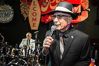 Rudy T. Gonzales performs at the Ponderosa Stomp in New Orleans on October 3, 2015.