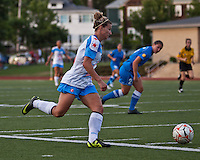 Chicago Red Stars defender/midfielder Lauren Alkek (6).  The Boston Breakers beat the Chicago Red Stars 1-0 at Dilboy Stadium.