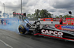 Jan. 17, 2012; Jupiter, FL, USA: NHRA top fuel dragster driver Steve Torrence during testing at the PRO Winter Warmup at Palm Beach International Raceway. Mandatory Credit: Mark J. Rebilas-