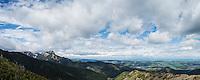 View towards Giewont (1895m), Tatra mountains, Poland