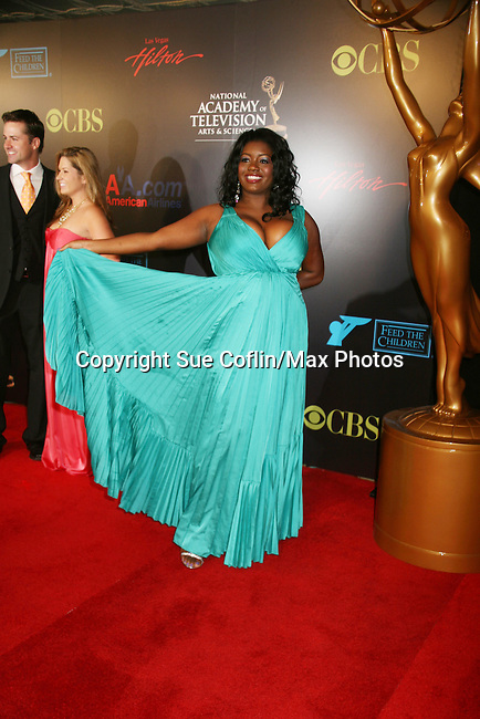 New on Soap - Red Carpet - 37th Annual Daytime Emmy Awards on June 27, 2010 at Las Vegas Hilton, Las Vegas, Nevada, USA. (Photo by Sue Coflin/Max Photos)