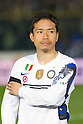 Yuto Nagatomo (Inter), March 11, 2011 - Football : the teams play with a band of mourning on the arm in remembrance of earthquake victims in Japan. Italian Serie A 2010-2011, match between  Brescia 1-1 Internazionale at Mario Rigamonti Stadium, Brescia, Italy. (Photo by Enrico Calderoni/AFLO SPORT) [0391]