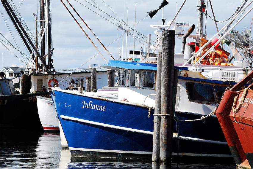 The Julianne - Fishing boats at Long Island Beach