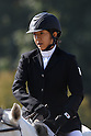 Narumi Kurosu (JPN), OCTOBER 29, 2011 - Modern Pentathlon : The 2nd All Japan Women's Modern Pentathlon Championships show jumping at Bajikoen, Tokyo, Japan. (Photo by YUTAKA/AFLO SPORT) [1040]